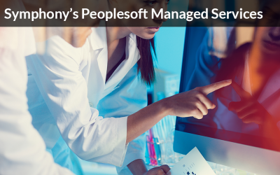 PeopleSoft Managed Services – Symphony Corporation